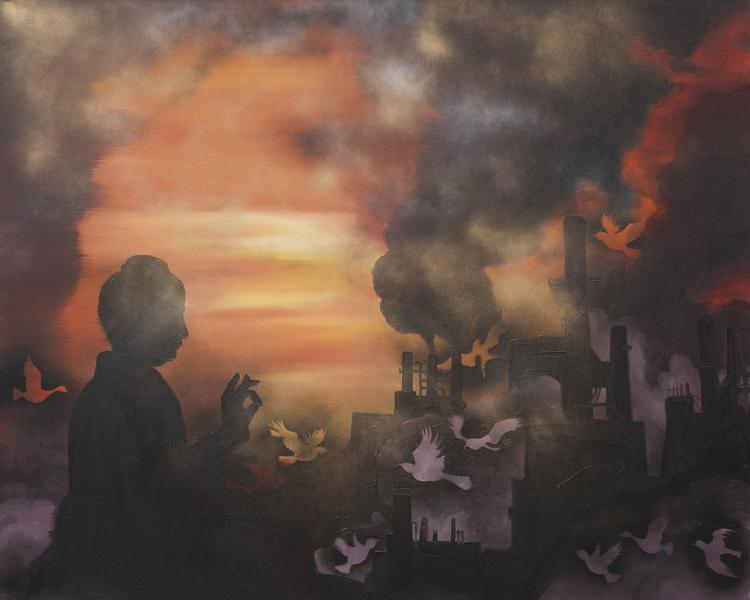 《城市景观2号》122×152cm 布面油画 2015.jpg