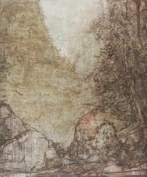 落伽岩 120×100cm 布面油画 2015.JPG