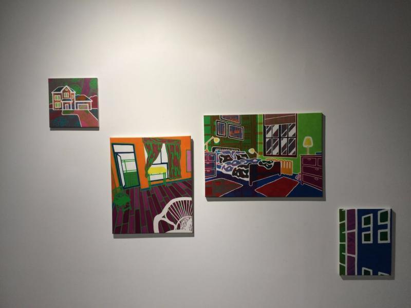 Guillaume 《结构系列》布面油画与丙烯.jpg
