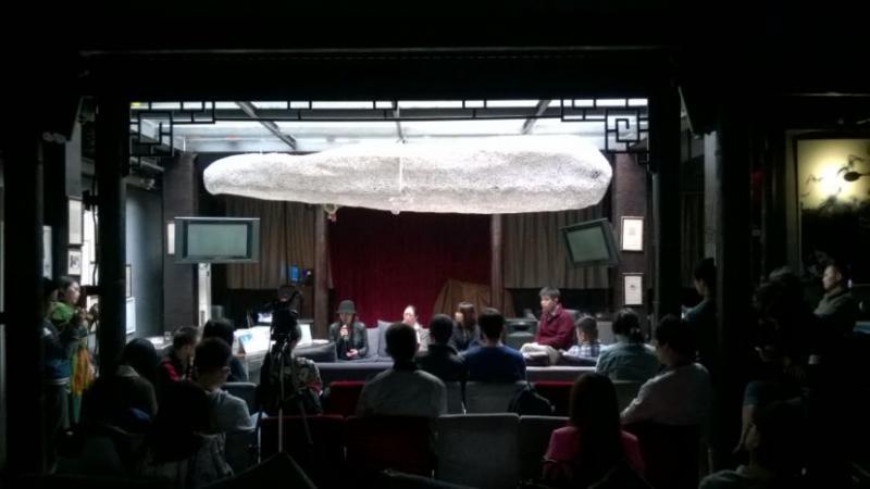 诗人王小妮、姜涛、周瓒、翟永明四人新书签售会