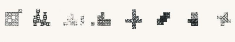 《方格数字序列》长卷截图3
