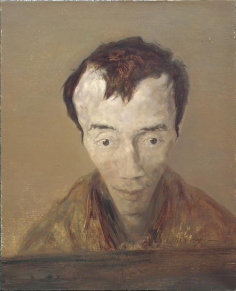 5-1 毛焰《我的诗人》61×50cm 布面油画 1997